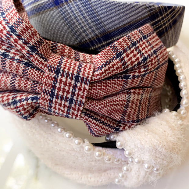 KIDS Mini Plaid Headband