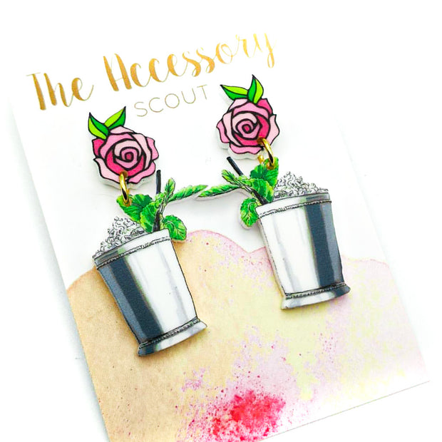 Scout Celebration Pink Mint Julep Earrings