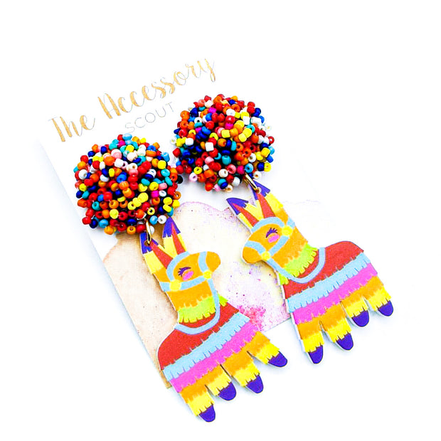 Scout Celebration Piñata Earrings