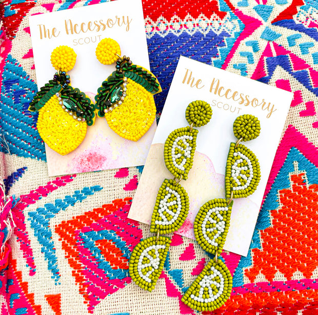 Lime It Up Earrings