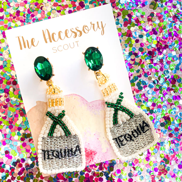 Tequila Bottle Earrings