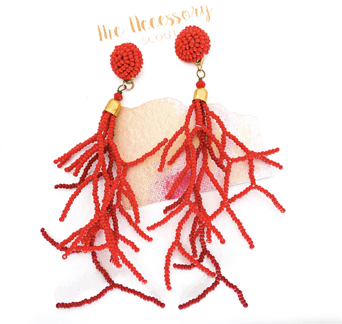 Coral Me Maybe Earrings