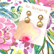 Tybee Pearl Drop Earrings