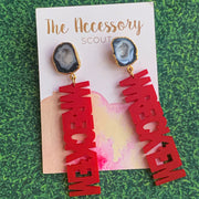 Scout Celebration Tailgate Texas Tech Earrings