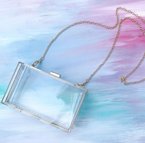 Clear Crossbody Purse