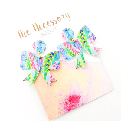 Scout Celebration Watercolor Earrings