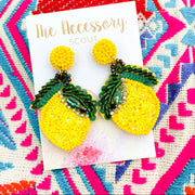 Lemon Squeeze Earrings