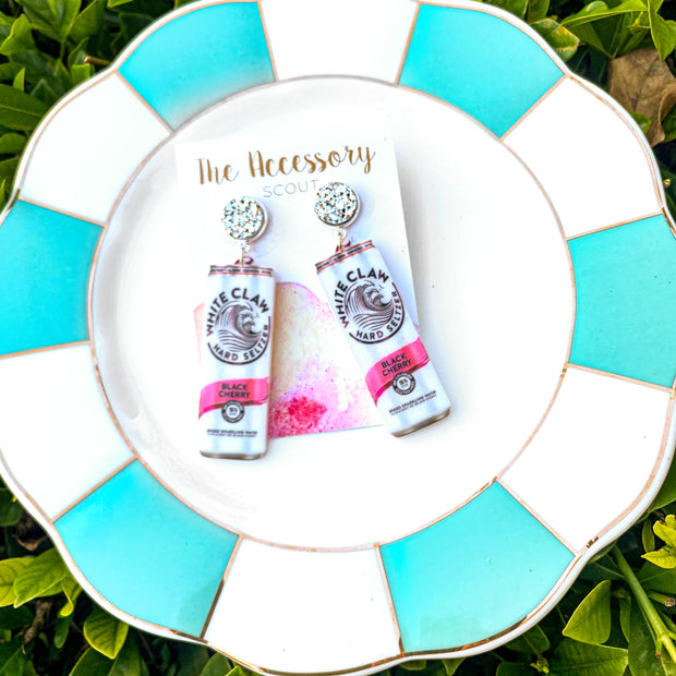 Scout Celebration White Claw Earrings