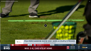 The Scratch Stick Featured on CBS Sports During The PGA Merchandise Show