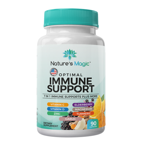 Nature's Magic 7 In 1 Immune Support Supplements - Magic V Steam
