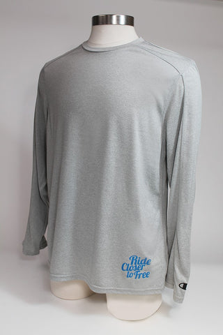 Long Sleeve Performance Shirt (Grey)