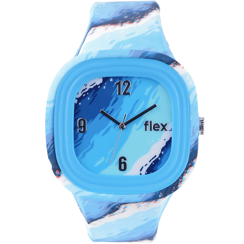 Flex Watches Patterns Clean Water Classic