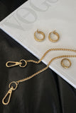 Josi Woven Hoop Earrings