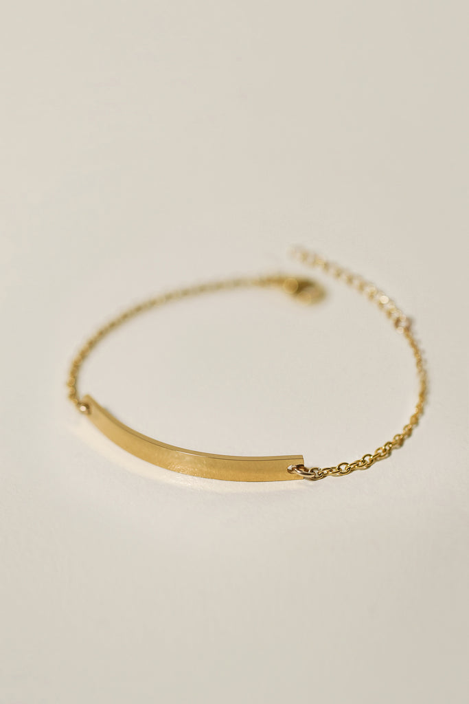 Epithet Bar Bracelet [Personalize]