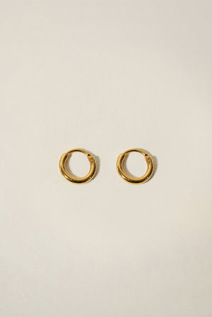Essentials Seamless Hoop Earrings 12mm