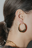 Heirloom Dome Hoop Earrings
