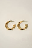 Essentials Tube Hoop Earrings 27mm