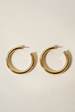 Essentials Tube Hoop Earrings 48mm