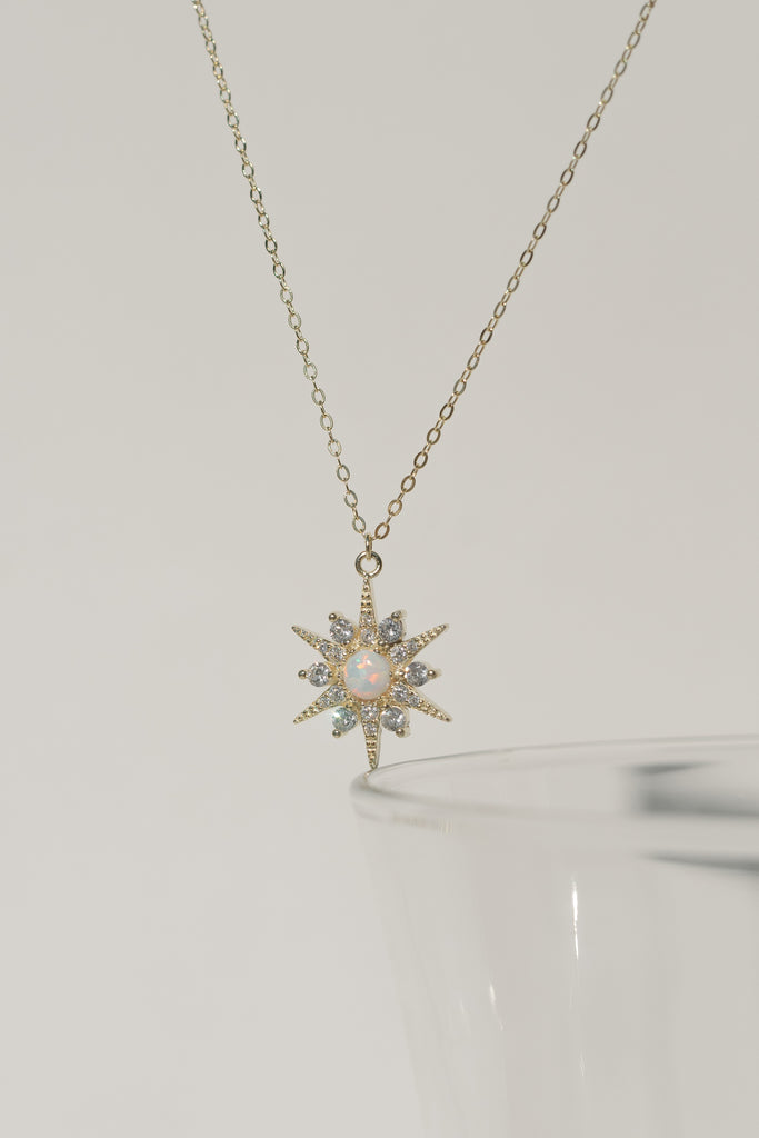 Guidance Opal Star Necklace