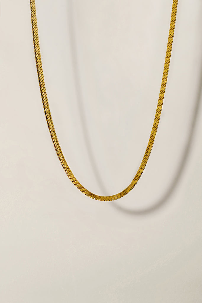 Essentials Snake Necklace 3mm
