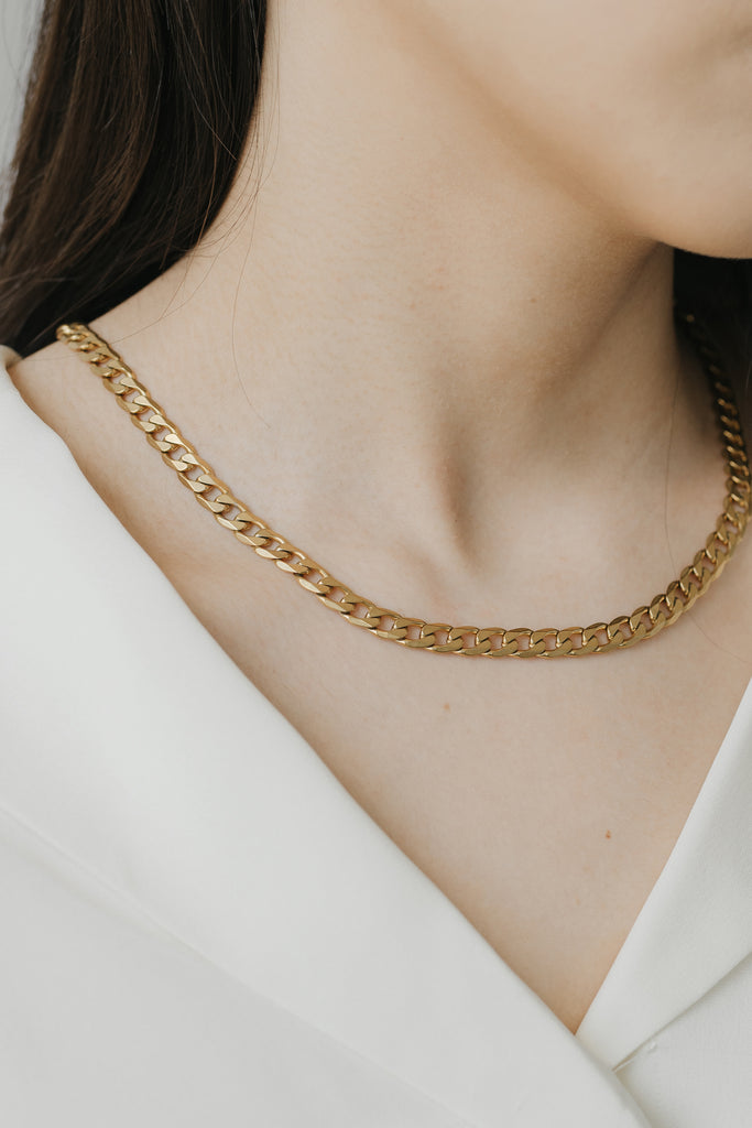 Essentials Curb Necklace 6mm