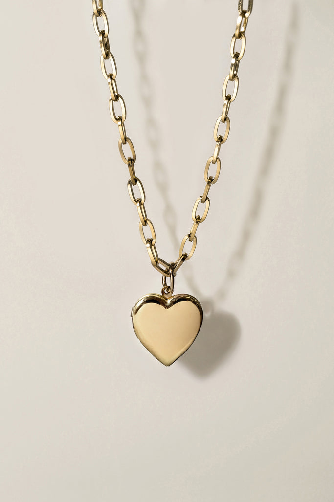 Moments Heart Locket Necklace [Personalize]