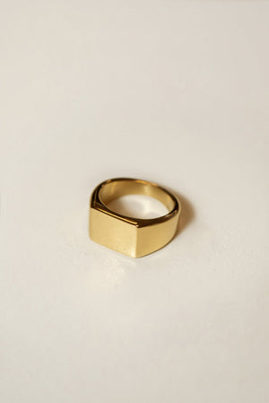 Signet Rectangle Ring [Personalize]