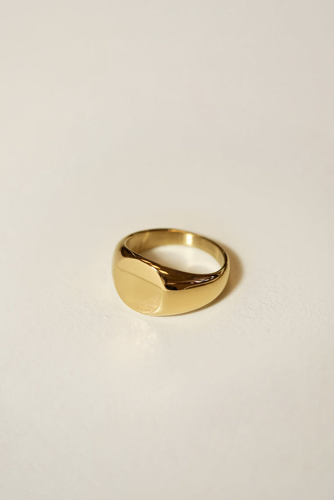 Signet Round Ring 10mm [Personalize]