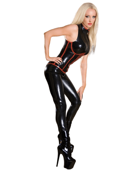 catsuit latex sur mesure