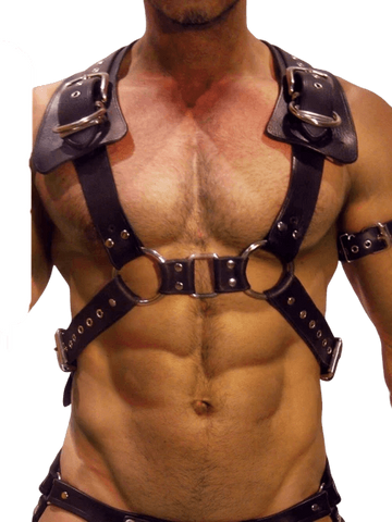 Harnais Homme Cuir | BDSM Empire