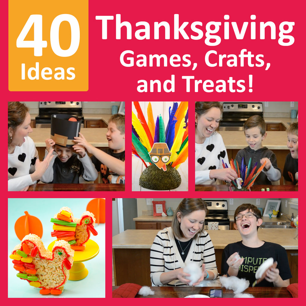 40 Easy Thanksgiving Party Games, Crafts, and Treats