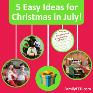 5 Fun Ways to Celebrate Christmas in July—without Taking out All the Holiday Decorations!