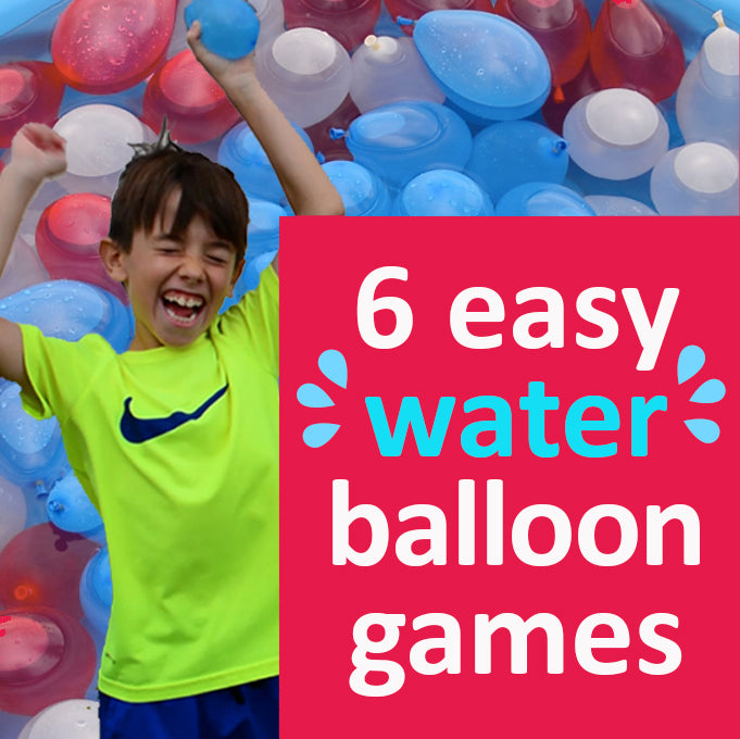 6 Easy and Fun Water Balloon Games for a Summer Party or Family Reunion