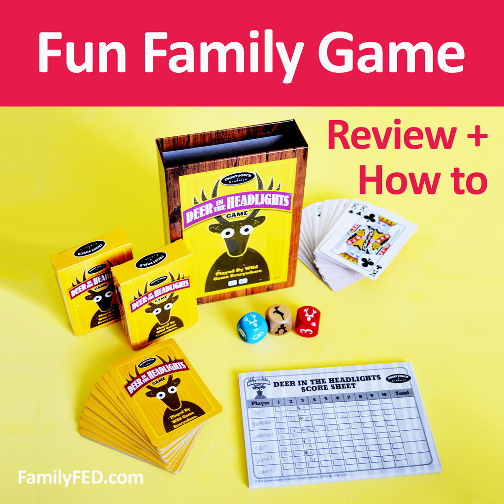 "How to Play the ""Deer in the Headlights"" Card Game—a Fun Family and Party Game"