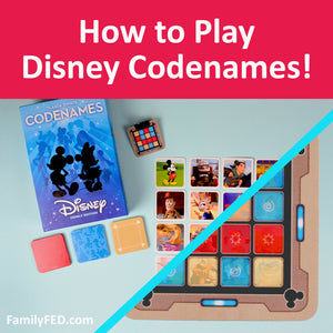 How to Play Disney Codenames—Best Board Game Reviews