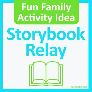 Storybook Relay—Easy and Fun Creativity Exercise