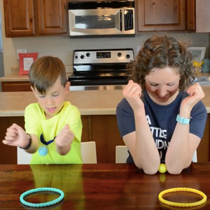 Elbow Basketball—a Fun and Easy Indoor Game for Kids