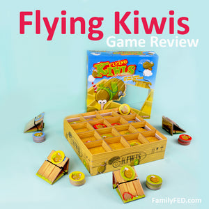 Best Family Games: Flying Kiwis Board Game Review + How to Play