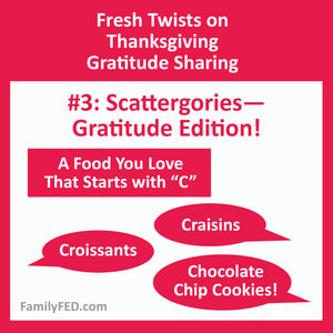 Scattergories List: Gratitude Edition—A Fun and Easy Thanksgiving Party Game