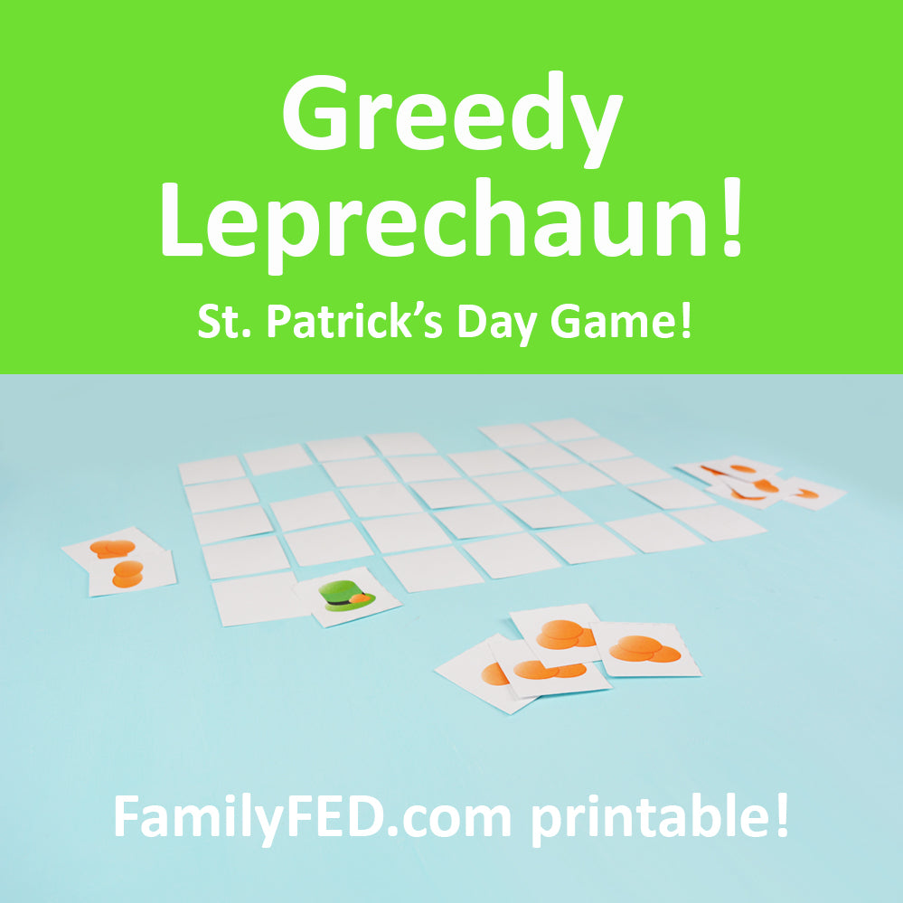 Greedy Leprechaun—a St. Patrick's Day Party Game Idea for Your Family or School Party