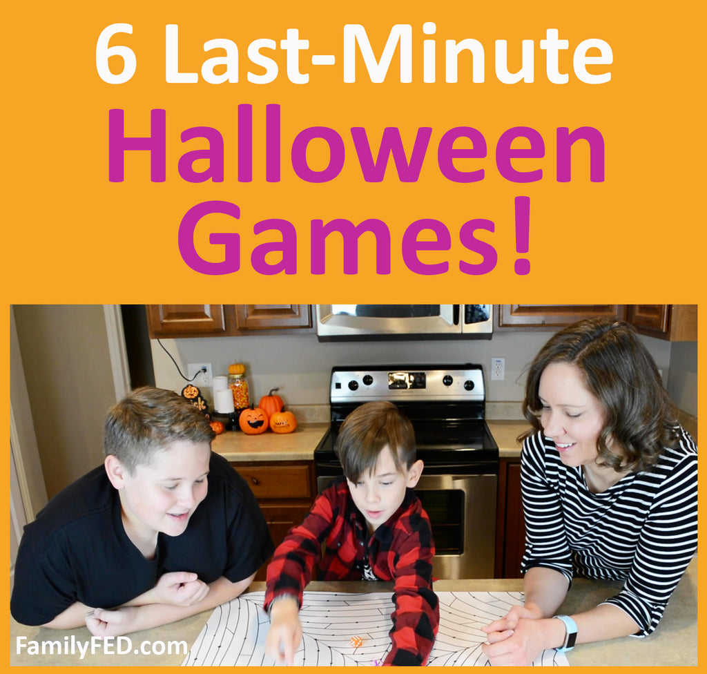 6 Easy Last-Minute Halloween Party Game Ideas for Kids or School
