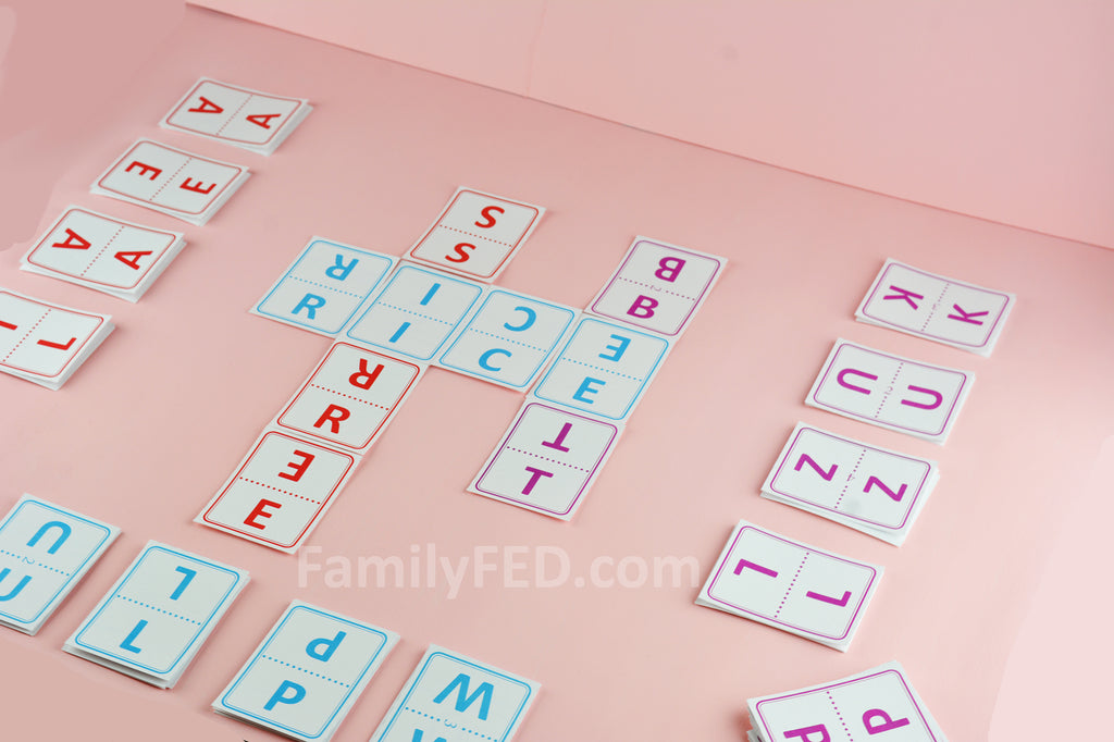 """Lightning Letters"" Word Game for Families, Parties, or Solo Play"
