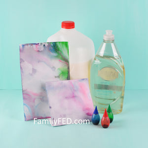 Milk Art—The Classic Milk and Dish Soap Science Experiment Gets a New Artistic Twist!