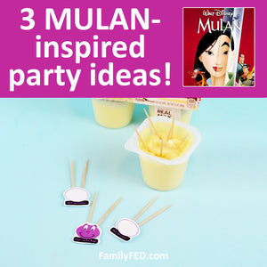 3 Easy MULAN Party Games for a Disney+ Movie Night or Disney Party