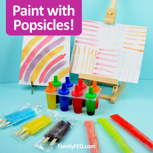 Draw with Popsicles—the Perfect Easy Art Activity for a Summer Day