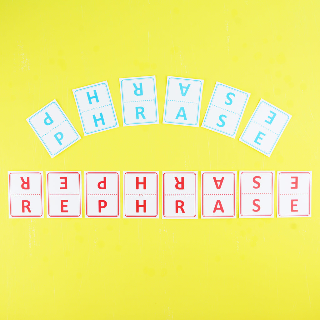 Phrase Rephrase—Easy, Fun, and Educational Word Game and Party Game