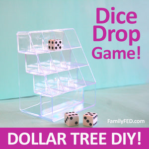 Dice Drop—Dollar Tree DIY Dice Game for Home, Road Trips, Car Games, and Party Games