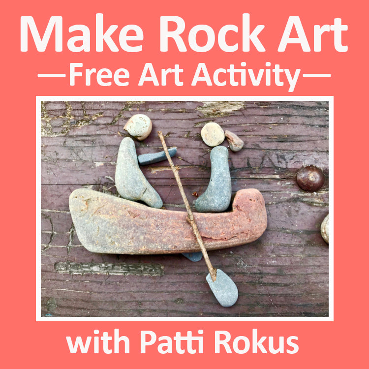 Making Rock Art for Free—an Easy Activity for Outdoor Play and Creativity