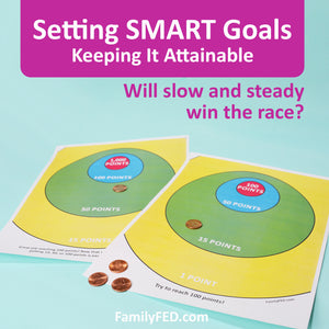 How to Set SMART Goals: Making the Goal Attainable (and a Goal-Setting Game)
