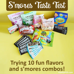 The Ultimate S'mores Marshmallow Taste Test—Best S'mores Marshmallows with Cookies, Crackers, and PUDDING!